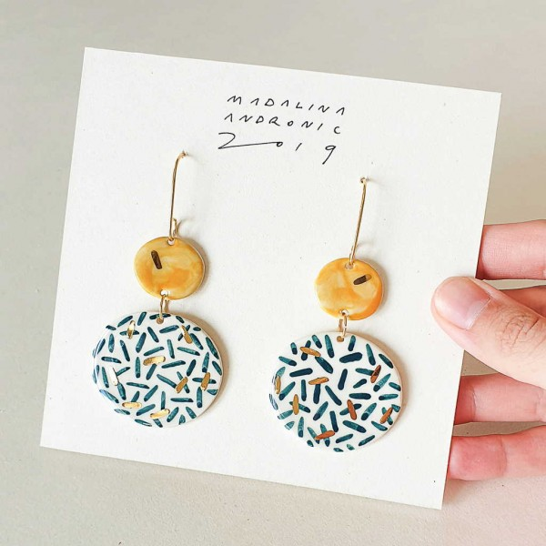 CHLOE / PORCELAIN EARRINGS 4