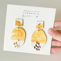 GLORIA / PORCELAIN EARRINGS 1
