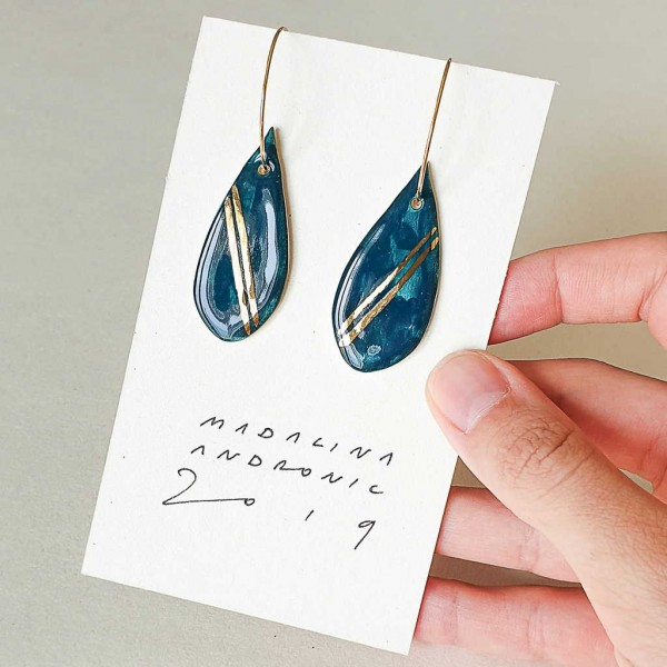ORIA / PORCELAIN EARRINGS 4