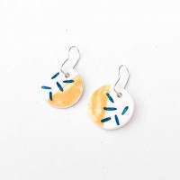 INES / PORCELAIN EARRINGS 3