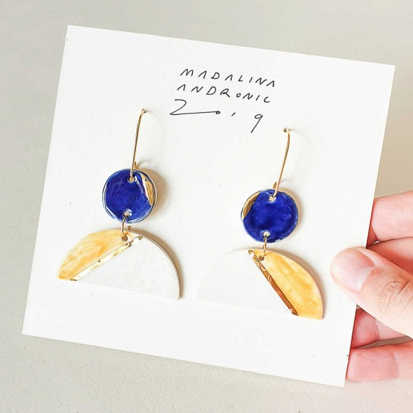 EMILIA / PORCELAIN EARRINGS 3