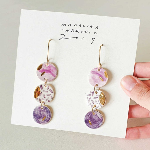 LULA / PORCELAIN EARRINGS 1