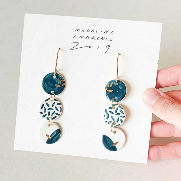 LULA / PORCELAIN EARRINGS 2