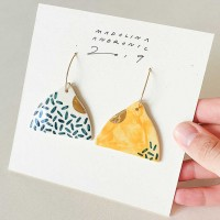 EVA / PORCELAIN EARRINGS 4