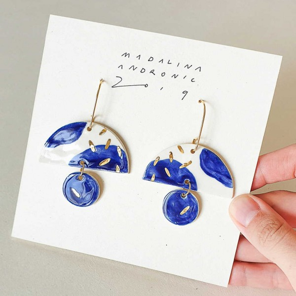 ELOISE / PORCELAIN EARRINGS 3