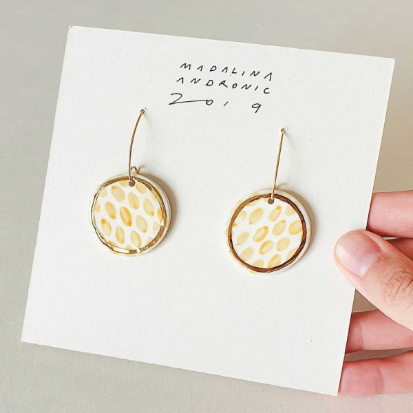 ZOLA / PORCELAIN EARRINGS 1