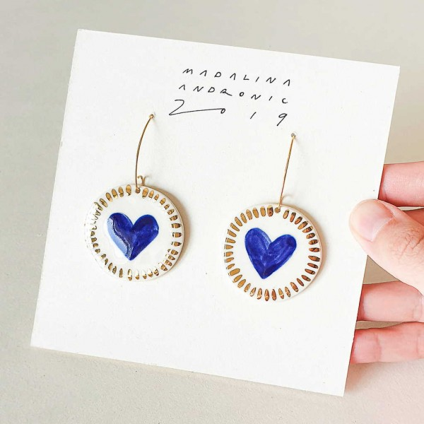 ZOLA / PORCELAIN EARRINGS 2