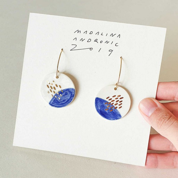 ZOLA / PORCELAIN EARRINGS 5