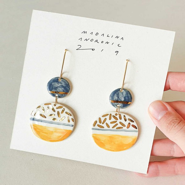 CHLOE / PORCELAIN EARRINGS 5