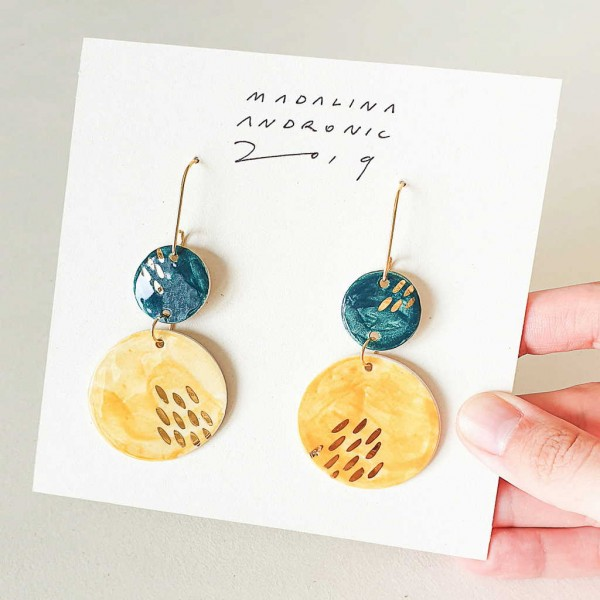 CHLOE / PORCELAIN EARRINGS 7
