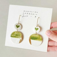 CHLOE / PORCELAIN EARRINGS 8