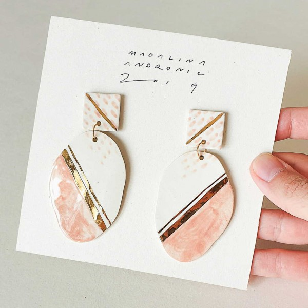 GLORIA / PORCELAIN EARRINGS 5