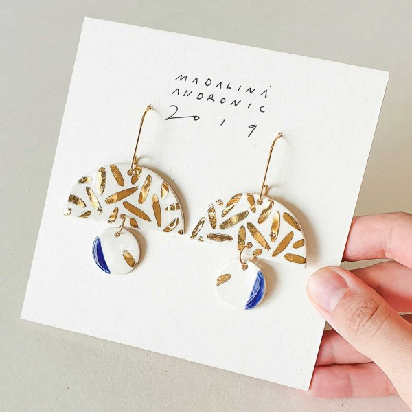 ELOISE / PORCELAIN EARRINGS 4
