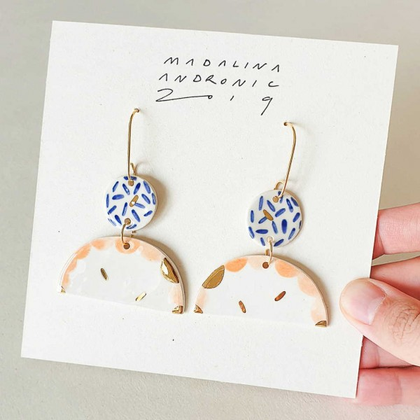 EMILIA / PORCELAIN EARRINGS 5