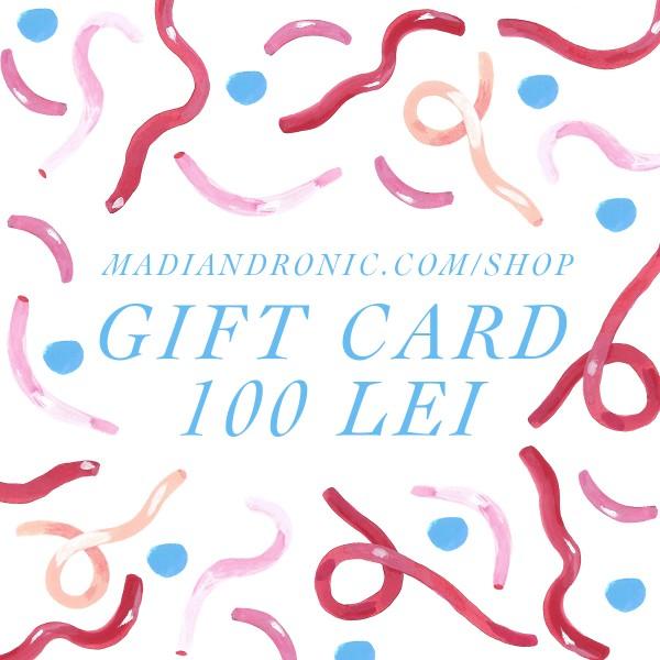 GIFT CARD 100 lei
