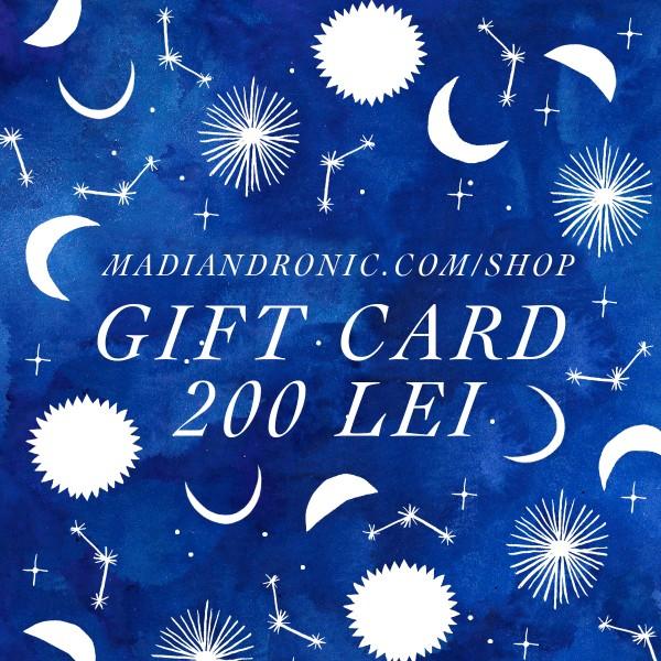 GIFT CARD 200 lei