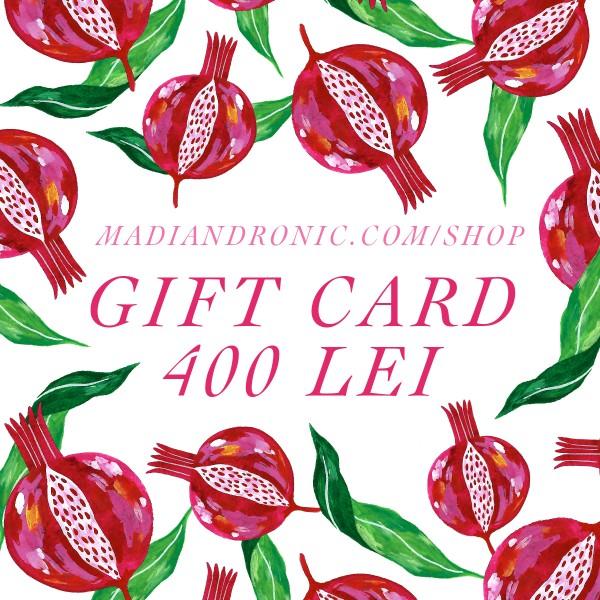 GIFT CARD 400 lei