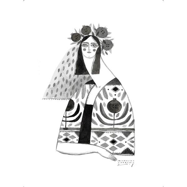 ECATERINA / Inktober print