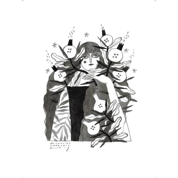 OFELIA / Inktober print