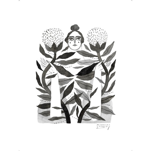 TUDOSIA / Inktober print
