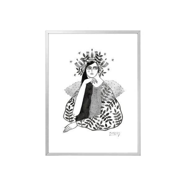 CATINCA / Inktober print