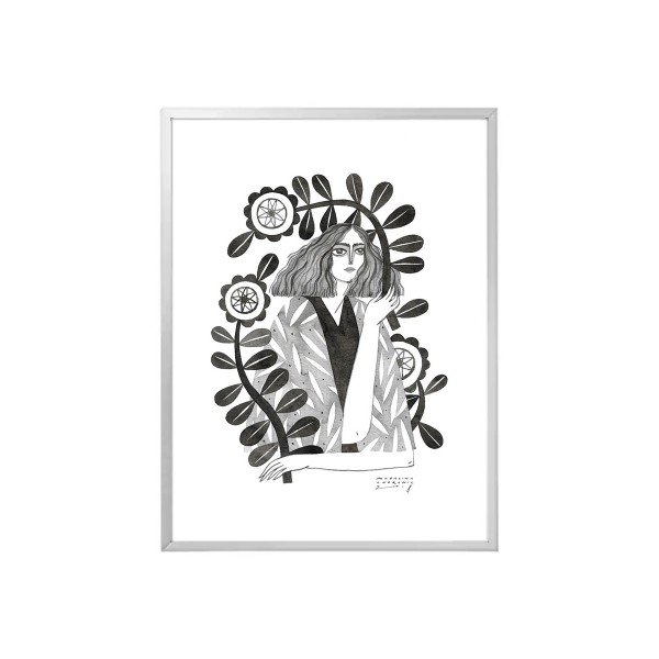 CEZARA / Inktober print