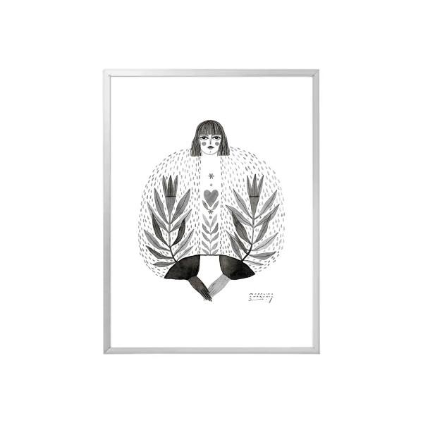 DOMNICA / Inktober print