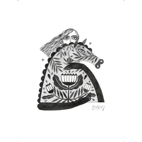 LEOPOLDINA / Inktober print