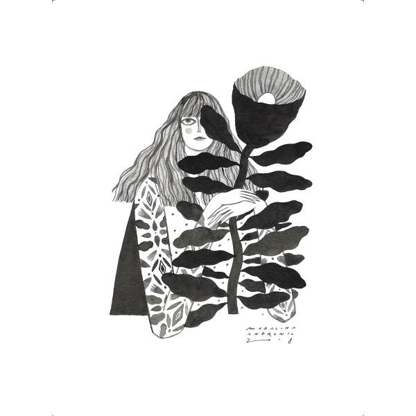 VERA / Inktober print