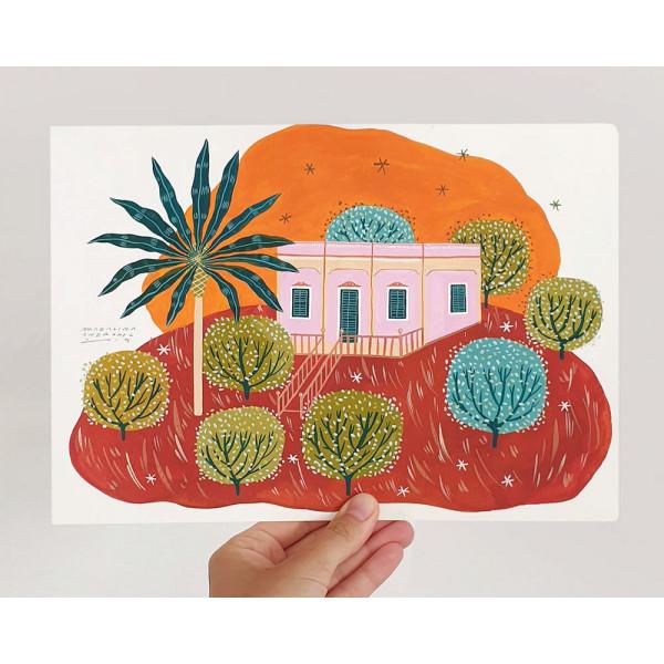 Pink Palazzo Original