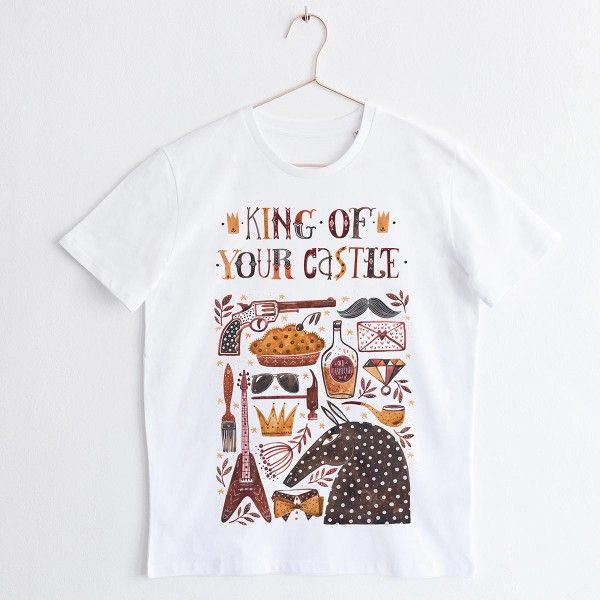 """KING"" / ROUND NECK TSHIRT"