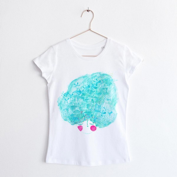 """MINT LADY"" / ROUND NECK TSHIRT"