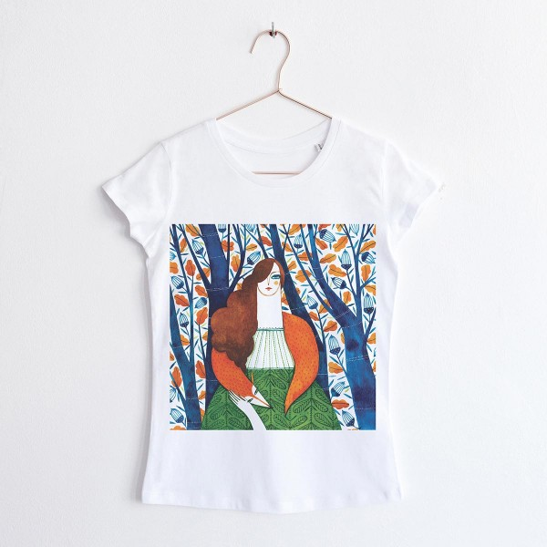 """FAIRY OF THE WOODS"" / ROUND NECK TSHIRT"