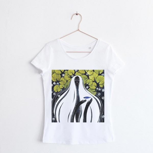"""""""FAIRY OF THE WATERS"""" / SCOOP NECK TSHIRT"""