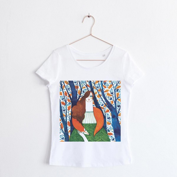 """FAIRY OF THE WOODS"" / SCOOP NECK TSHIRT"