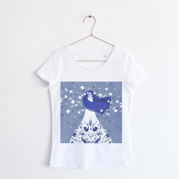 """FAIRY OF THE WIND"" / SCOOP NECK TSHIRT"