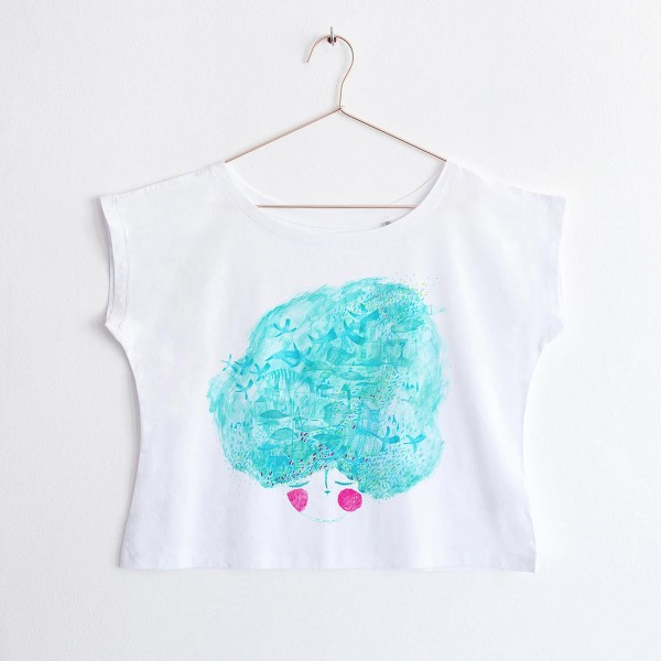 """MINT LADY"" / OVERSIZED TSHIRT"