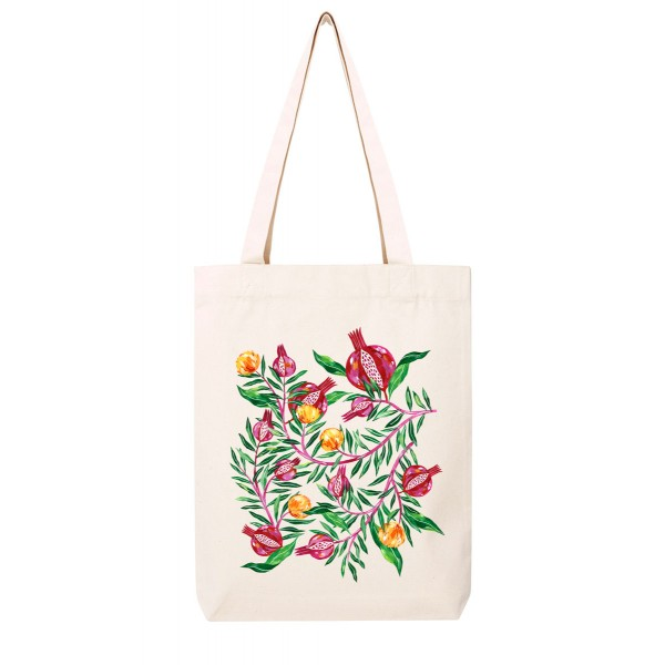 Italian pomegranate / medium tote bag