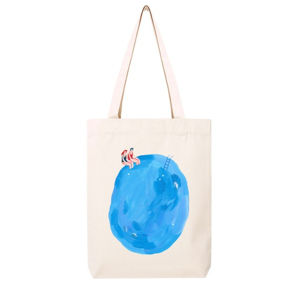 POOLSIDE / medium tote bag