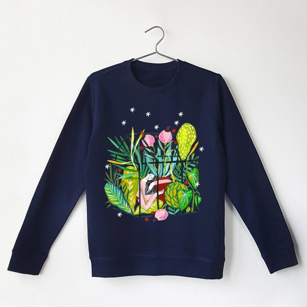 GODDESS OF GREEN SERENE Sweatshirt