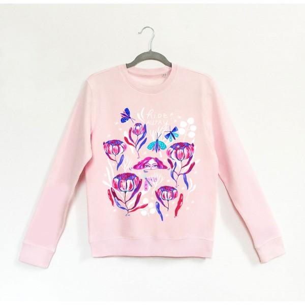 HIDEAWAY / Pink Sweatshirt