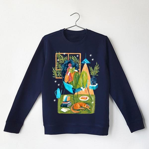 GODDESS OF COSY AND CHILL Sweatshirt