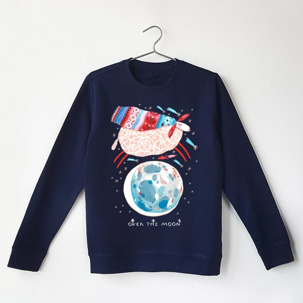 OVER THE MOON / Unisex Sweatshirt