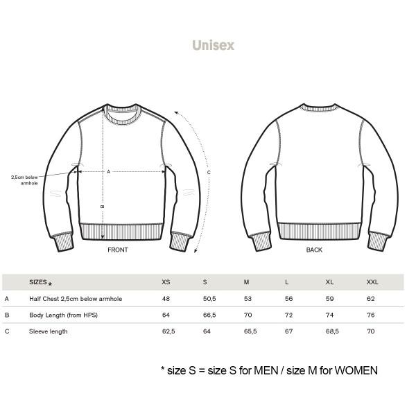 OVER THE MOON / Unisex Sweatshirt